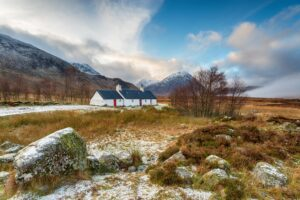 Winter at Glencoe